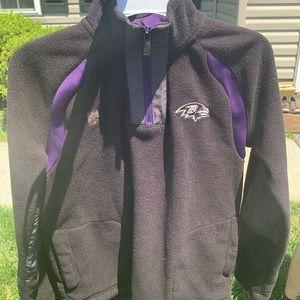 NFL Baltimore Ravens Pullover Fleece Jacket